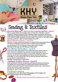 KHY-Sewing